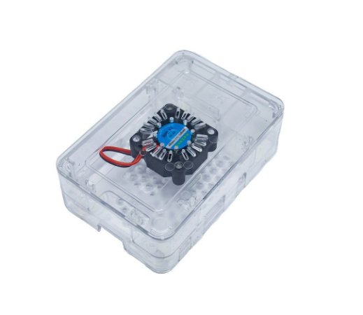 Case Premium Raspberry pi 3 Acrílico com Cooler