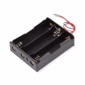 Suporte para 3 Baterias 18650