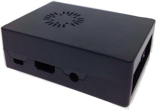 Case ABS Preta para Raspberry Pi 3