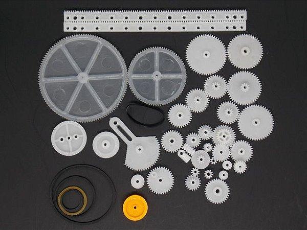 Kit Engrenagem 34 peças