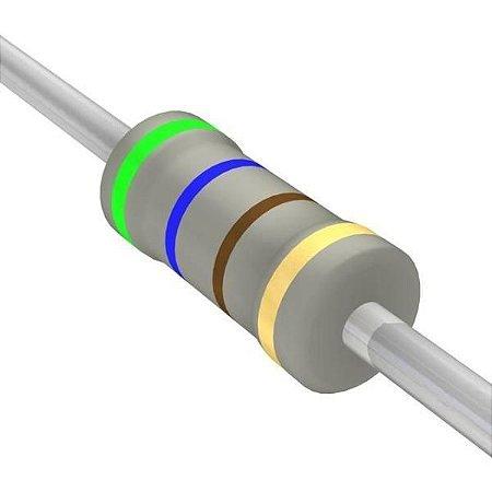 Resistor 1/4W 620R Ohms X 10 Unidades