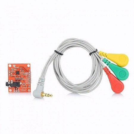 Módulo Monitor de freqüência cardíaca com Eletrodos AD8232