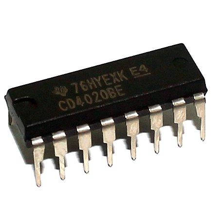 CI CD4020 - Contador Binário