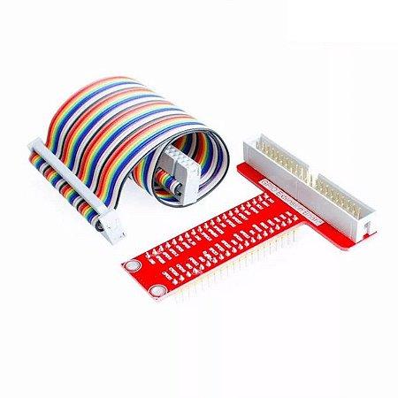 Módulo Expansor GPIO para Raspberry 40 Pinos