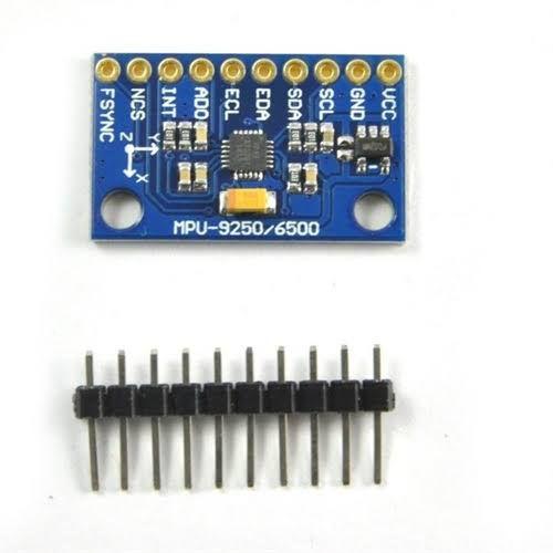 Módulo Acelerômetro e Giroscópio 9 Eixos 10 DOF MPU-9250