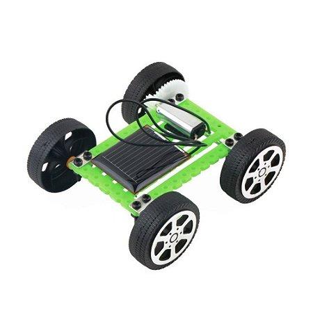 Kit Robótica Educacional Carrinho Movido a Energia Solar