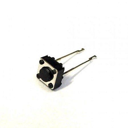 Chave Táctil Push Button Longo com 2 Terminais (6x6mm)
