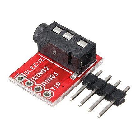 Módulo Adaptador de Audio para Protoboard