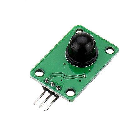 Sensor de Presença Piroelétrico 120 Graus