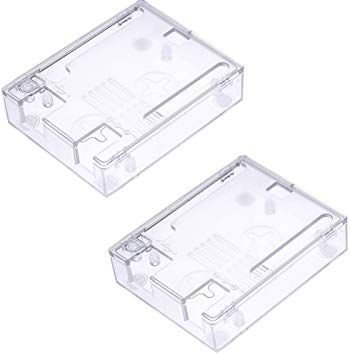 Case Arduino UNO Plástico Transparente