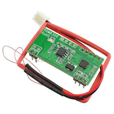 KIT RFID RDM6300 + Cartão + TAG