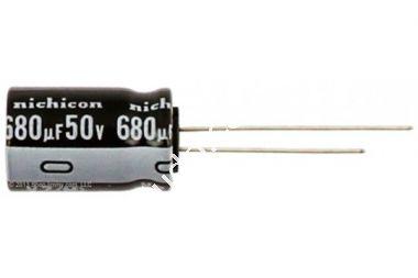 Capacitor Eletrolitico 680uFx50V
