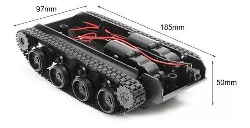 Chassi Robô tipo tanque com esteira