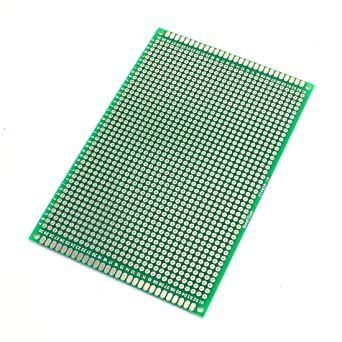 Placa de Circuito Impresso Ilhada dupla face 8x12cm