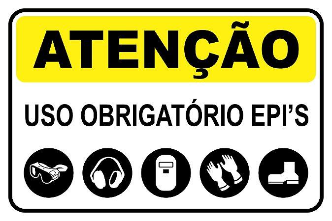 Placas para Segurança do Trabalho - EPI
