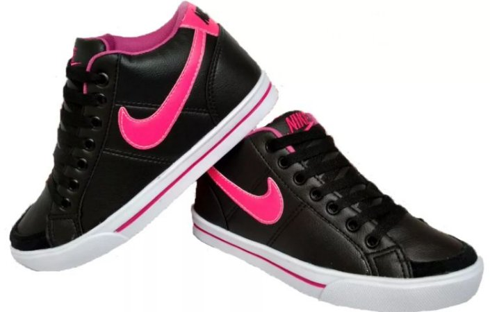 1dbc15766e4 Botinha Nike Rosa