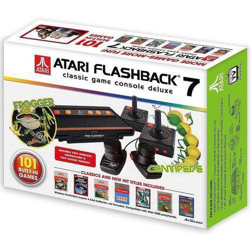 Console Atari Flashback 7 Classic Game 101 Jogos C/ 4 Controles - Atari