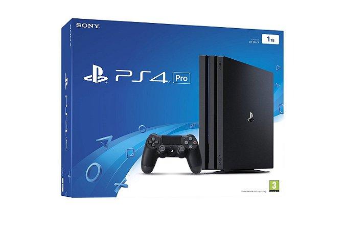 Console PS4 Pro 1TB Americano