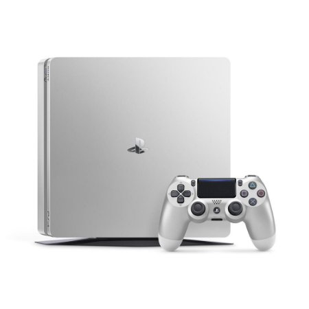Console PS4 Slim Silver 500 Gb