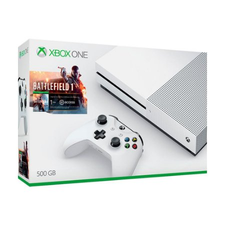 Xbox One S 500GB+Battlefield 1