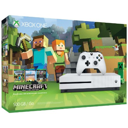 Xbox One S 500GB+Minecraft