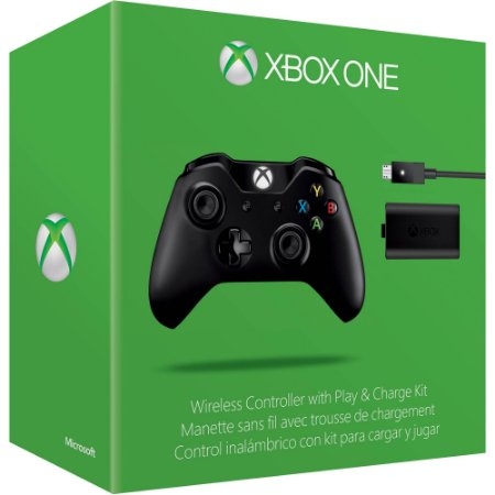 Controle Wireless Xbox One Preto S + Cabo Windows