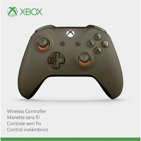 Controle Xbox One S Militar Grafite