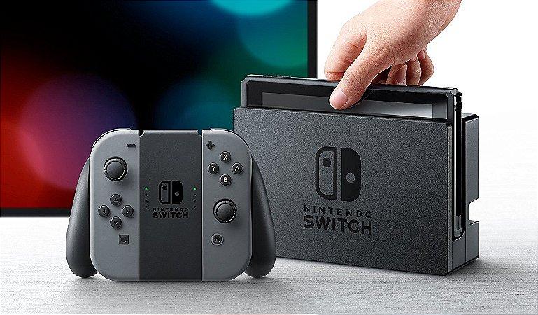 Nintendo Switch GREY (PRETO)