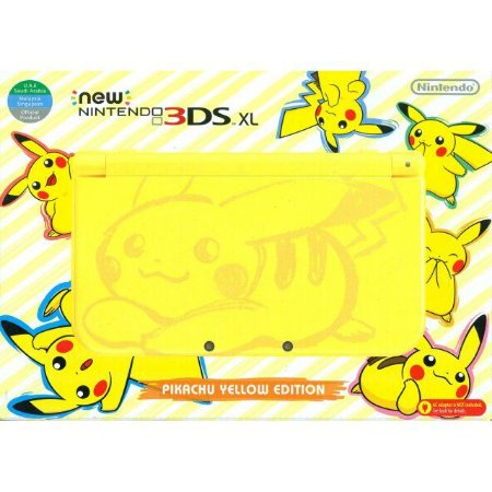 New 3DS Xl - Pikachu Edition