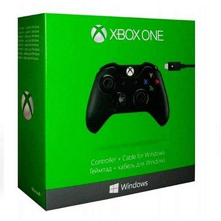 Controle Xbox One - com Cabo