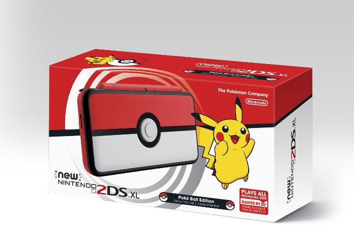 Nintendo New 2DS XL - Poke Ball Edition