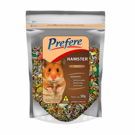 Prefere Mistura Hamster 500g  20% DE DESCONTO*