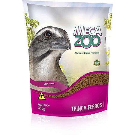 Ração Megazoo Trinca-Ferro Manutençao - 350g  20% DE DESCONTO*