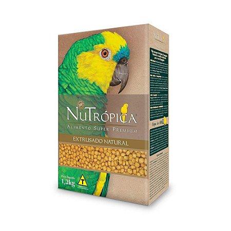 NUTRÓPICA PAPAGAIO EXTRUSADO NATURAL 1,2kg 30% DE DESCONTO*
