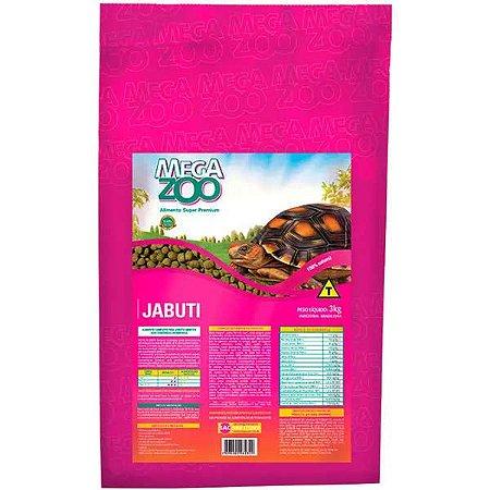 Alimento Super Premium Megazoo Jabuti 3kg