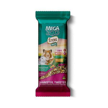 Sticks Natural Megazoo Vegetais para Pequenos Roedores 120g