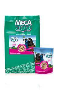 Ração Megazoo Mix com Vitacare Curiós, Bicudos e Azulões