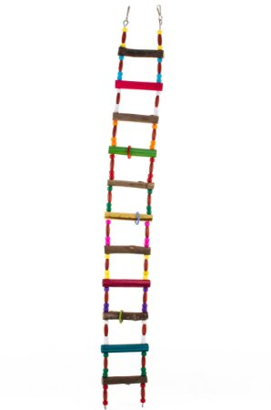 Escada 74cm para pequenos psitacideos, Twister e Sugar Glider