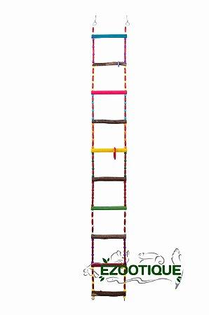 Escada para Papagaios e outros grandes psitacídeos 110cm