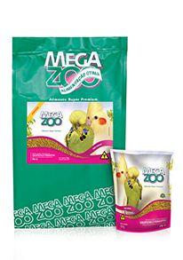 Ração Megazoo para Calopsitas e Periquitos - Mini Bits - PM13 - 350g e 5kg
