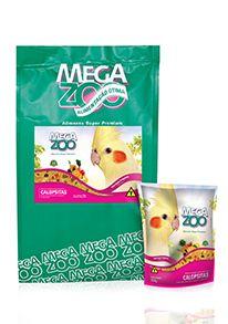 Ração Megazoo Calopsitas Frutas e Legumes - 350g e 5kg