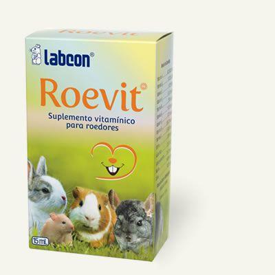 Roevit - Suplemento para roedores e Coelhos