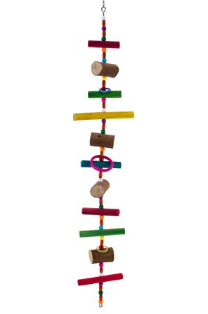 Brinquedo Pêndulo longo colorido