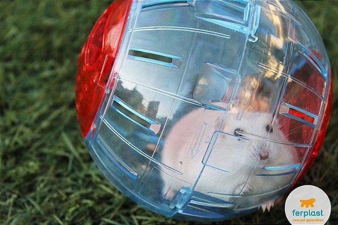 Esfera para Hamster e outros roedores - Baloon Ferplast - Peq, média e grande - PA 5220, PA 5222  e PA 5224