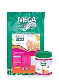 Megazoo papa para filhotes de Calopsitas I-19 - 500g e 6kg