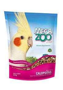 Megazoo Mix com Vitacare Calopsitas - 350g - 1,2kg e 6kg