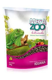 Ração Megazoo Extrusada Iguanas E Lagartos 280g