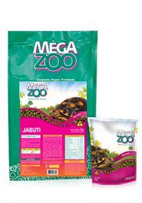 Alimento Super Premium Megazoo Jabuti 280g