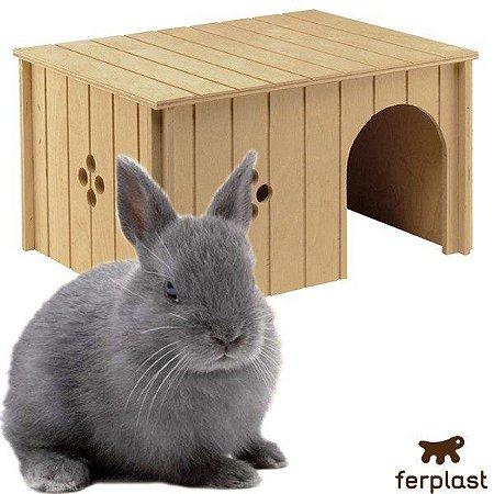 Casa para coelhos feita de madeira SIN4647 Ferplast