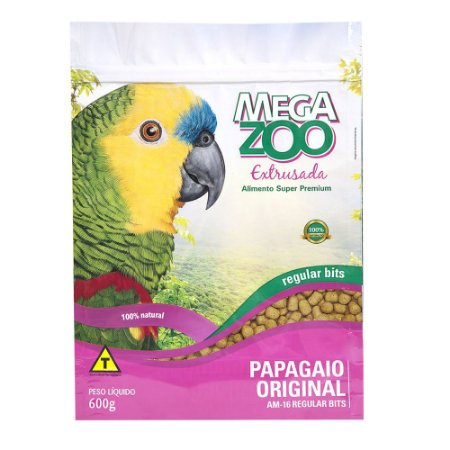Ração Megazoo Original Regular Bits 600g